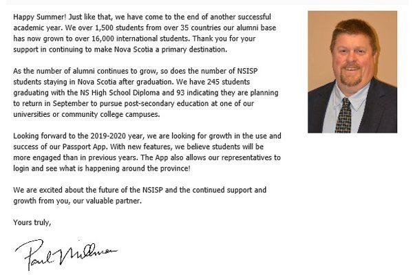 NSISP News letter summer 2019-2